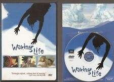 Waking Life (Dvd 2002) Mind Blowing Animation Buy 2 Get 1 Free Disc & Cover Only