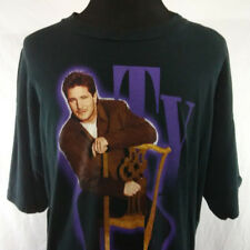 Ty Herndon Mens 2XL T Shirt Black Concert 1999 Tour Tee Vintage 1990s Country