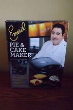 Emeri Electric Nonstick Plates Cake and Pie Maker, Black