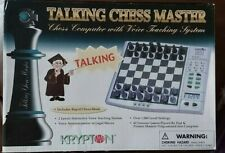KRYPTON Talking Chess Master Game - Unused - Boxed and Complete