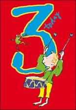 Quentin Blake Boys 3rd Birthday Greeting Card Popular Range Greetings Cards