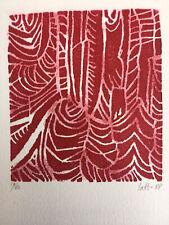 Gravure Victor LAKS (1924-2011) Lithographie 1988 Atelier Emile-Othon Friesz