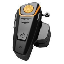 Motorcycle Bluetooth Headset Helmet Intercom Communication System Waterproof