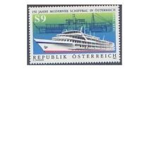 AUSTRIA 1990 150th ANNIV. MODERN SHIP BUILDING(1) Unhinged Mint SG 2236