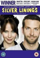 SILVER LININGS PLAYBOOK BRADLEY COOPER JENNIFER LAWRENCE EIV UK DVD NEW SEALED