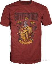 Harry Potter- Gryffindor Shield Apparel T-Shirt M - Maroon