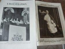 ILLUSTRATION 1922 4120 DRIANT CAURES VERDUN COURONNEMENT PIE XI GUITRY