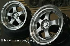New 4x 18 inch 5x114.3 SSR SP1 style rims for Japan car JDM Work Advan wheels