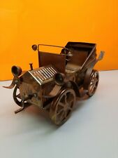 "Ford Model-T Coupe Hand Crafted Copper Music Box/Car Plays-""Lm Heart in Sf"""