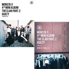 MONSTA X [THE CLAN 2.5 PART.2 GUILTY] 4th Mini Album 2Ver SET+P.Book+Card SEALED