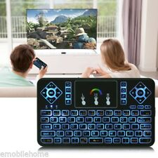 TZ Q9 Mini 2.4GHz Wireless Keyboard Touchpad RGB Backlight Function Portable