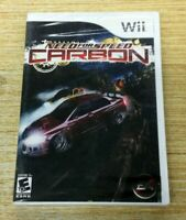 BRAND NEW Need for Speed: Carbon (Nintendo Wii) SHIPS FAST