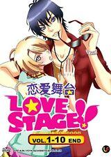 DVD Love Stage !! (TV 1 - 10 End) DVD + Free 1 Bonus Anime + Free Postage