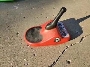 Zipfy 05 Red  Freestyle Mini Luge Snow Sled  FAST!