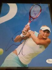 Anna Kournikova Autographed 8x10 Photo with JSA Authentication Tennis