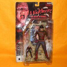 1998 Mcfarlane Movie Maniacs una pesadilla En Elm Street Freddy Krueger Figura Moc