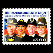 Chile 2006 - International Women's Day Military Uniforms - Sc 1459 MNH