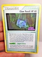 """Claw Fossil HP 40 - 91/110 - Reverse Holo - Ex Holon Phantoms """"STAMPED"""" VG+"""