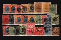 Brazil 25 Mostly Used, some faults - C1907