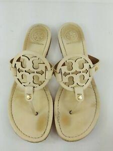 Tory Burch Miller Sandals Cream Size 9