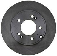 Disc Brake Rotor-Non-Coated Rear ACDelco Advantage 18A2820A
