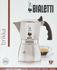 - NEW - Bialetti 6188 Brikka Elite Espresso Maker - (2 Cups) -