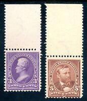 USAstamps Unused FVF US 1895 Bureau Issue Scott 268, 270 MNG