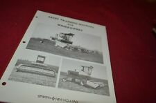 New Holland Windrowers For 1975 Sale Training Manual Manual DCPA5