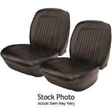 PUI 67FS10U 1967-1968 Camaro Black Bucket Seat Upholstery