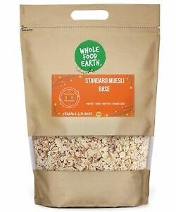 Standard Muesli Base    GMO Free   Vegan   Dairy Free   No Added Sugar