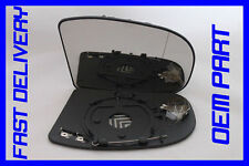 MERCEDES W203 C-CLASS C220 CDI 00-07 WING MIRROR GLASS ELEC/HEAT DRIVER