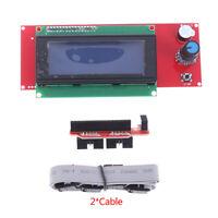 3D Printer Reprap Smart Adapter Controller Reprap Ramps 1.4  2004 LCD ControlU_X
