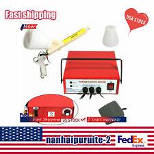Professional Powder Coating System Paint Gun Coat Portable Pc03 5 Red 110v Usa
