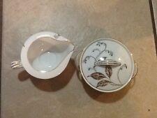 Noritake Selby 5401 Sugar Bowl and Creamer (Reduced)