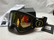 NEW Electric EGV Wutang Matte Black Gold Mirror ski snowboard goggles Msrp$100