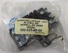 Marsh Bellofram 000-825-69-00 Surface Mounting Socket, 15A 250V, 15A 125V