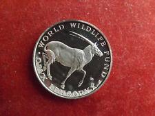 * WWF Silbermedaille (1000) ca.30g.-40mm * Arab.Oryx