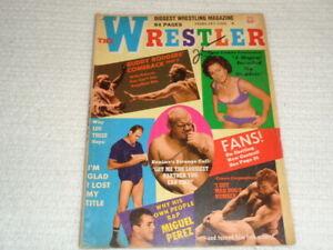 Vintage The Wrestler February 1968 Magazine Buddy Rogers Lou Thesz Bruiser NWA