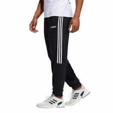 Adidas Men's Neo French Terry 3 Stripe Jogger Sweat Pants, BLACK,L