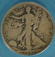 1921 Walking Liberty Half Dollar ANACS VG10- Tougher Date/Mint, Nice Example