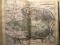 1890 EO TOUT AUTOUR DE PARIS MARTIN+JOLI CARTONNAGE TBE+ GRAVURES PLANCHES COULE