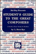 Studente'S GUIDE per i grandi compositori