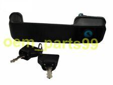 Jcb Backhoe 3Cx Door Handle Cabin With 2 Keys Part Number 123/04067