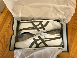 Onitsuka Tiger [brand new] mexico 66 light gray men's leather sneakers [size 10]