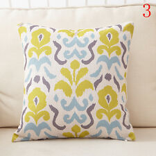 Decorative pattern Geometry Linen Pillow Case Throw Cushion Car Pillow Cover