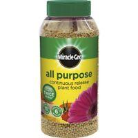 Miracle-gro Slow Release All Purpose Plant Food, 1kg Shaker Jar