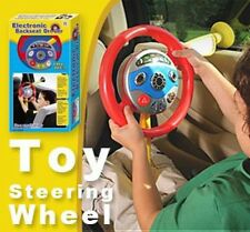 Electronic Car Backseat Children Pretend Driver Play Toy