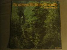 MANNERCHORE IN EINEM KUHLEN GRUNDE LP ORIG '86 ETERNA GERMAN FOLK CLASSICAL VG+