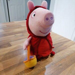 Bnwot Peppa Pig Little Red Riding Hood Soft Toy Plush