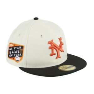 HAT CLUB New York Giants Fitted 1934 All Star Game Patch Sz 7 7/8 *Confirmed*